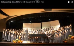 Chorus students perform at fall concert