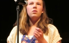 Senior Mikeila McQueston wins Poetry Out Loud contest