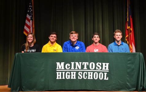 Five athletes participate in spring signing on April 13