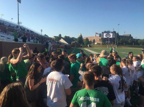 Girls varsity soccer team wins state championship