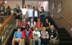 Journalism class attends GSPA fall conference