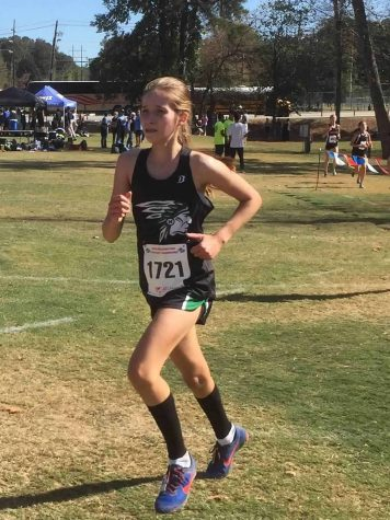 XC team places third at state championships