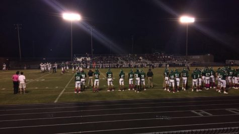 Football team hosts annual pink out game