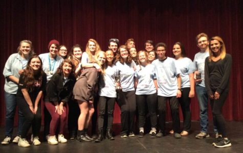 Cast and crew 'The Women of Lockerbie' place second at state championships