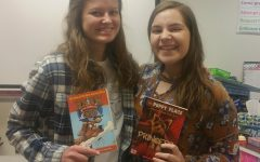 English classes donate books to students in need
