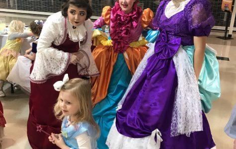 """Cinderella"" cast holds tea party"
