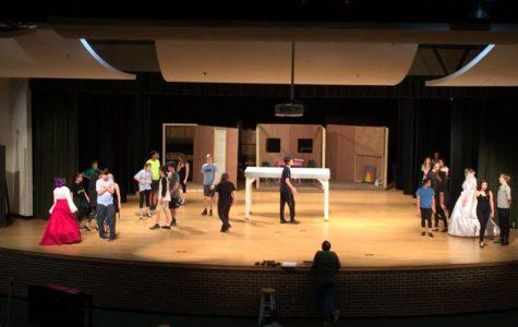 """Cinderella"" cast rehearses for February performances"