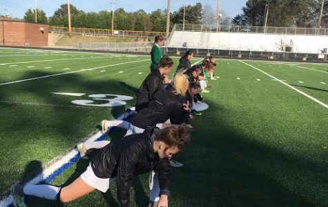 Varsity girls' soccer team breaks in new turf with a win
