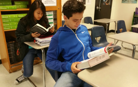 Seniors give freshmen advice on EOC testing