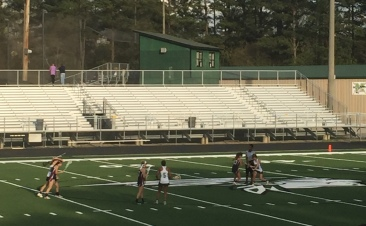 Varsity girl's lacrosse takes on Whitewater High School and Dutchtown High School