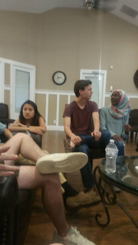 Students go to Centennial Clubhouse for a debate party.