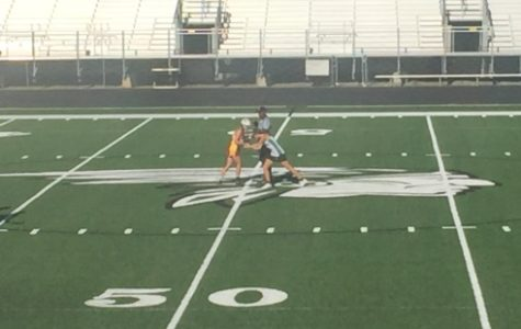Varsity girl's lacrosse team takes on Holy Innocents Episcopal and Kell