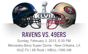 Harbaugh brothers face off in Superbowl XLVII