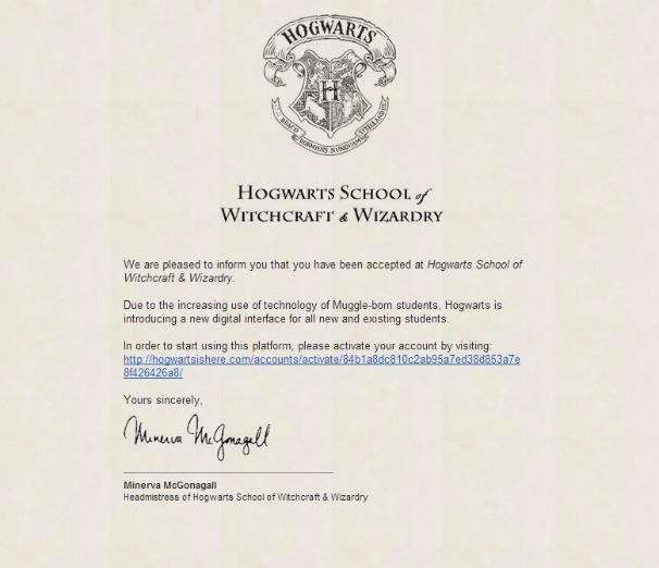 Hogwarts Adresse