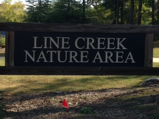 Line Creek Nature Area is one of the places where students say clowns are lurking.