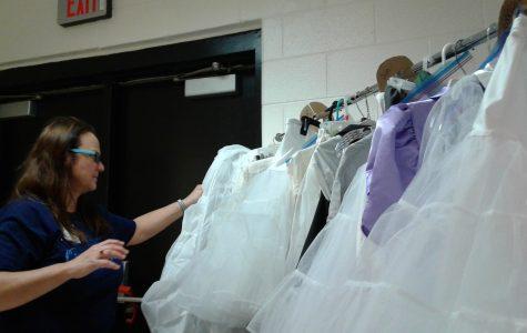 """Parent volunteer designs costumes for """"Cinderella"""""""