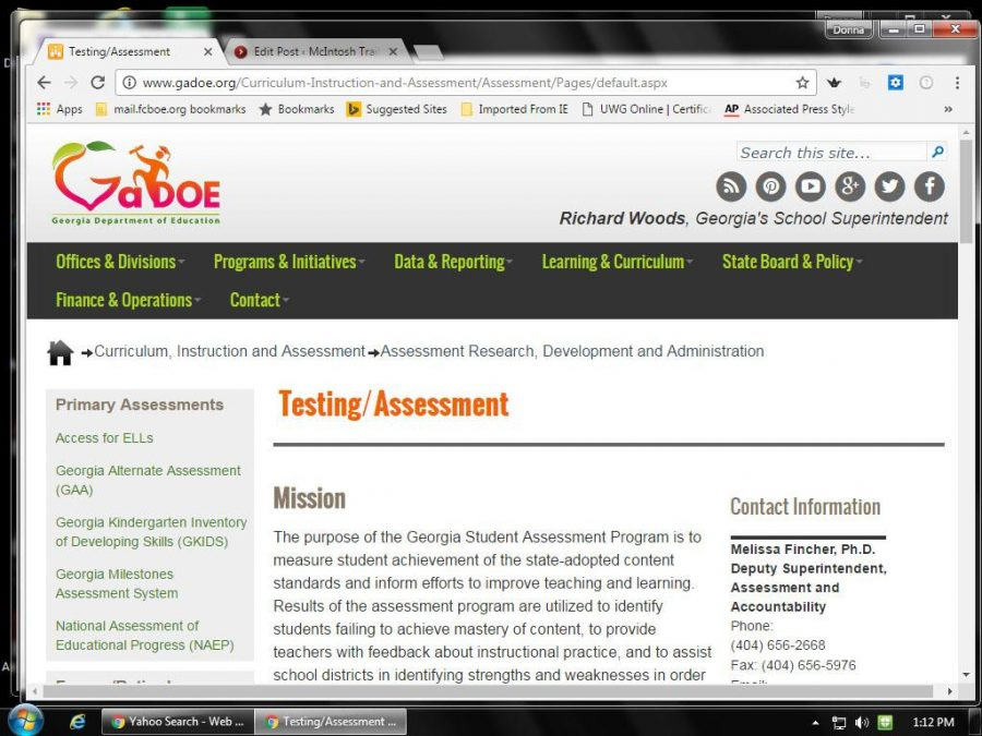The+Georgia+Department+of+Education+website+is+home+to+a+page+dedicated+to+explaining+the+purpose+of+testing.