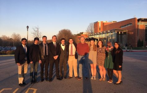For the first time in the history of the current Speech and Debate Team, McIntosh competitors advance to the elimination rounds and earn speaker awards. Senior Christian Carr earns best in state for public forum.