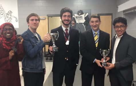 McIntosh debaters placed in elimination rounds and won speaker awards.