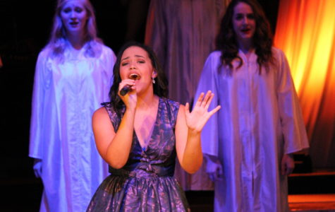 Zoe Vaughan performs solo at her final Gala