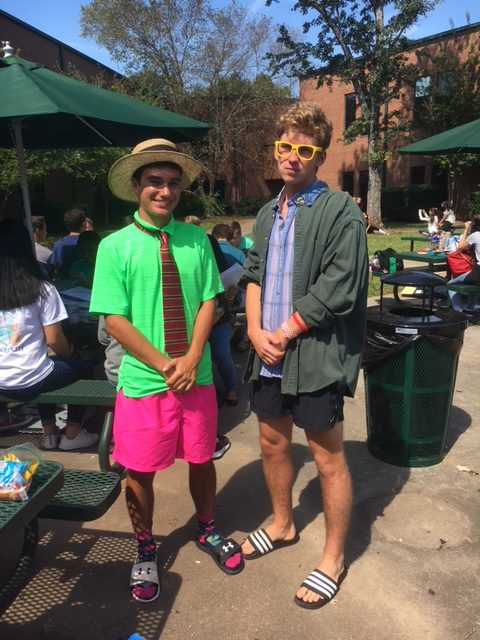 Senior Jake Donaldson (left) and Junior Erik Malasek (right)