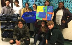 National Honor Society Collects Jeans for Rachel's Ray of Hope