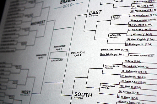 It's time to fill out your brackets again, folks!