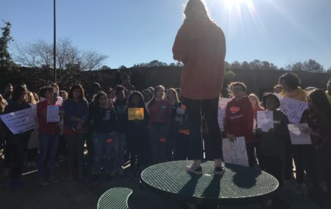McIntosh Students Join National School Walkout