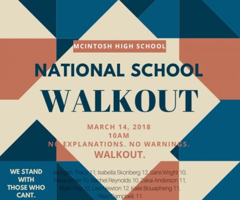 Student Walkout Demonstrates Unified Commitment to Change