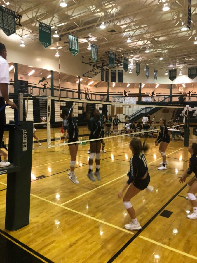 Volleyball Loses Second Game of the Season