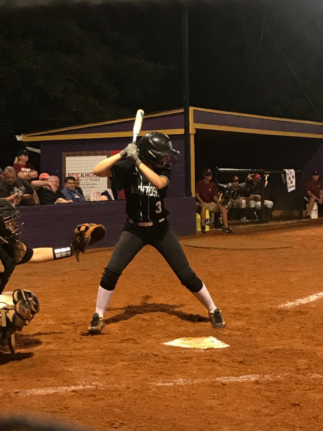 Abbey Terry comes up to bat against East Coweta early in the season.