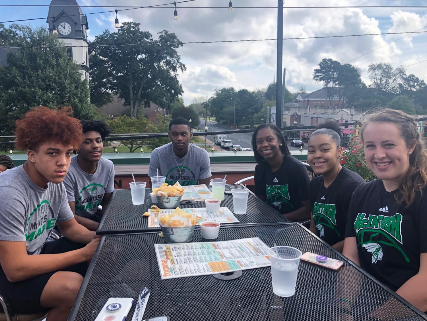 Basketball players come together at Twisted Taco for annual media day.