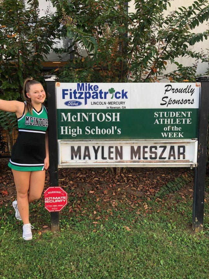 Athlete of the Week: Maylen Meszar