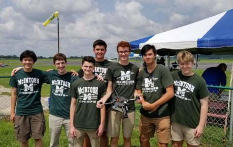 (from left-to-right: Sam Triplett, Luke Wonderley, Logan Connerat, Adrien Richez, Matthew Harmon, Robert Palla, and Noah Statton) Photo Credit: Seth Bishop