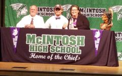 Senior Huck McCollum Officially Becomes A Mountain Lion