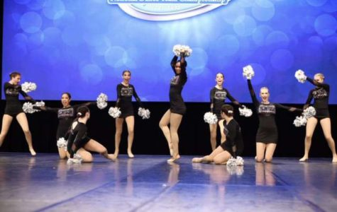 Chiefettes showcase their skills on stage.