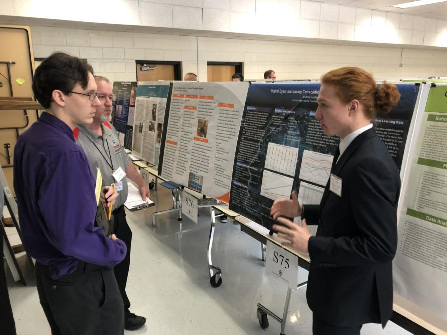 Students+presenting+their+projects+at+the+Regional+Science+Fair+at+Griffin+RESA.+Photos+by+Seth+Bishop.