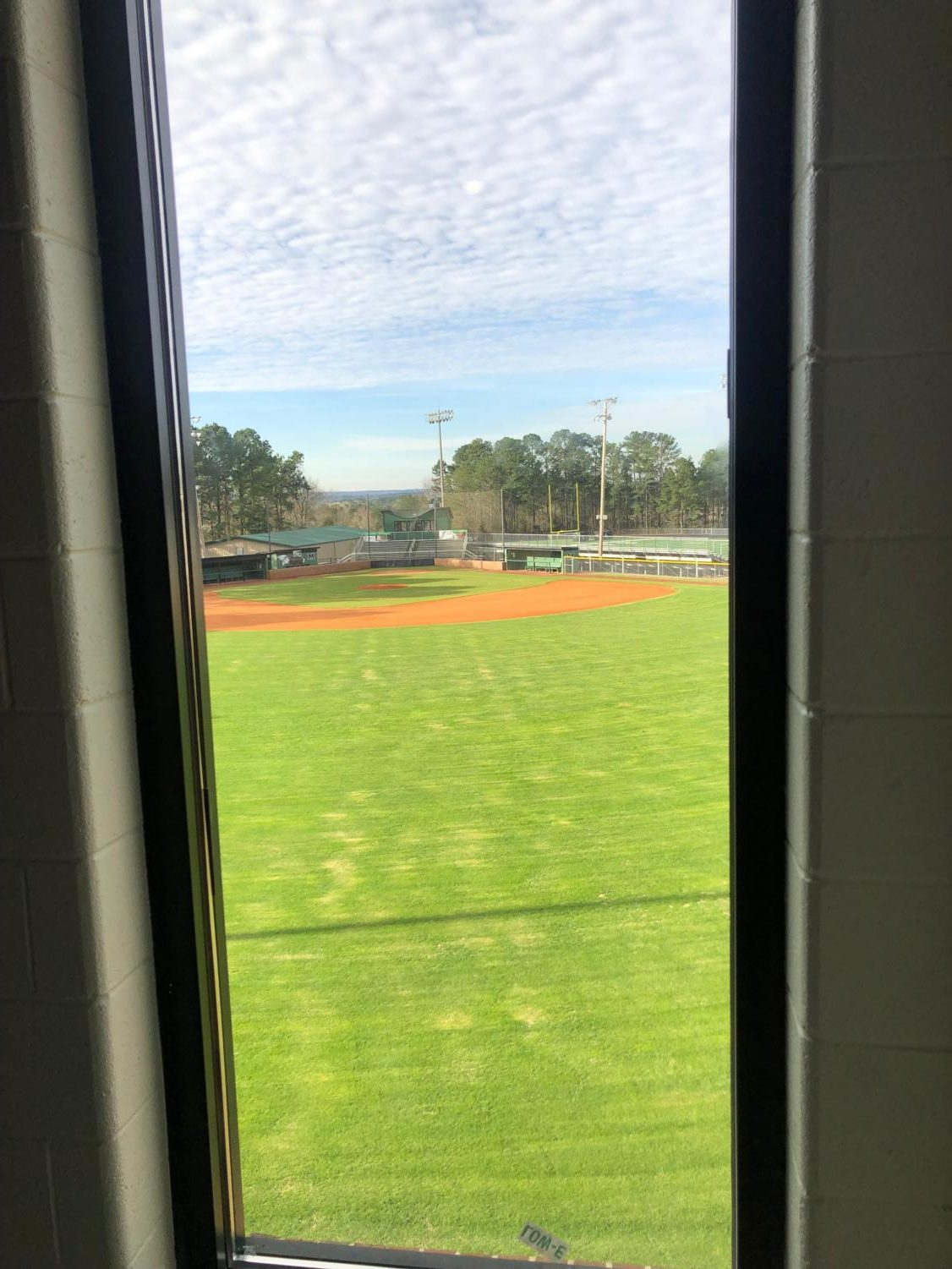 View+from+one+of+the+classrooms+facing+the+baseball+field