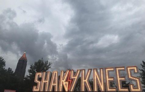 Shaky Knees was accompanied by brief rain showers.