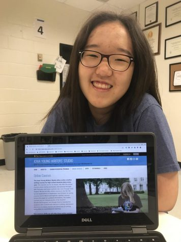 Trail Staff Member Yunju Lee Accepted Into the Iowa Young Writers Studio