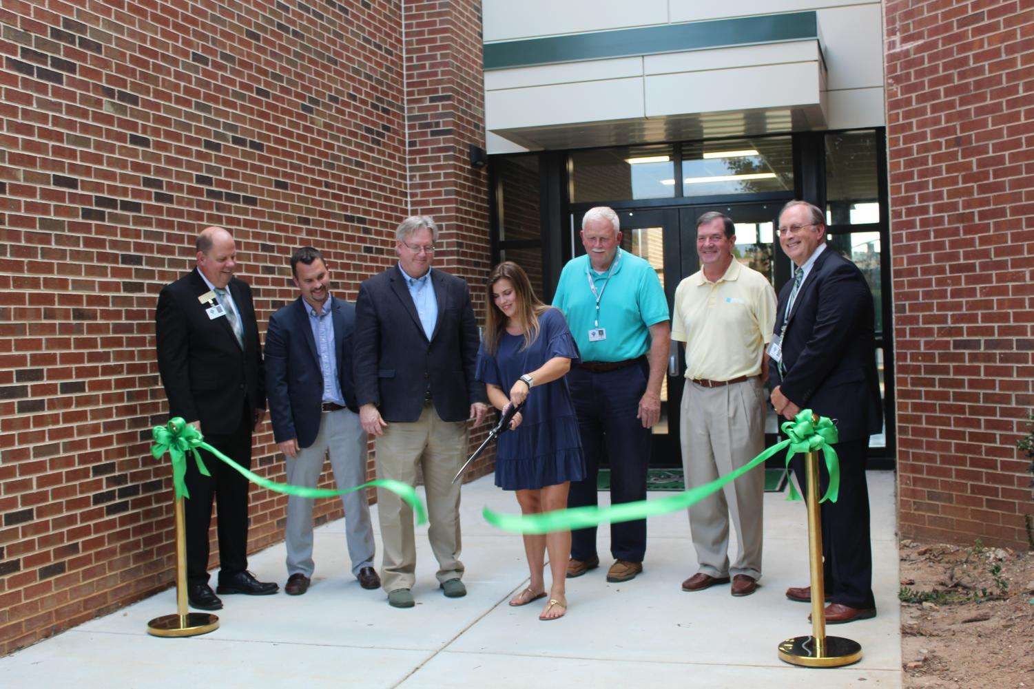 """""""Dedicated to the wonderful students that we serve"""": New Building Dedication Ceremony"""