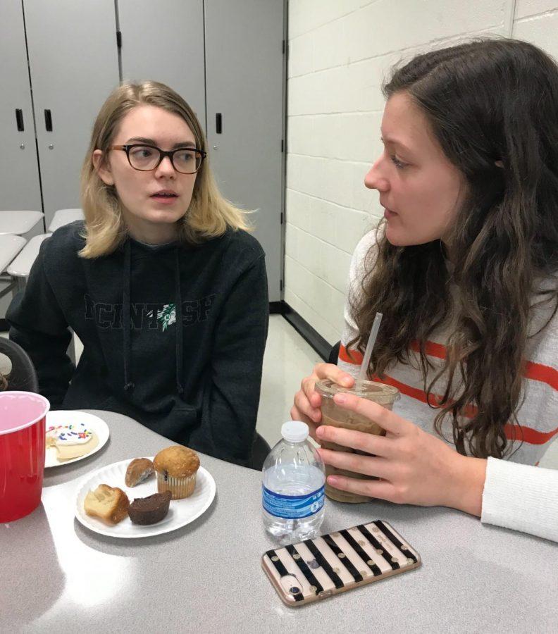 Chorus students get their buddy