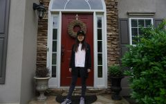 Junior Yunju Lee has been staying at home with her family, doing the things that she wanted to do with her sister.