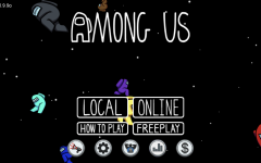 Home screen on the mobile game