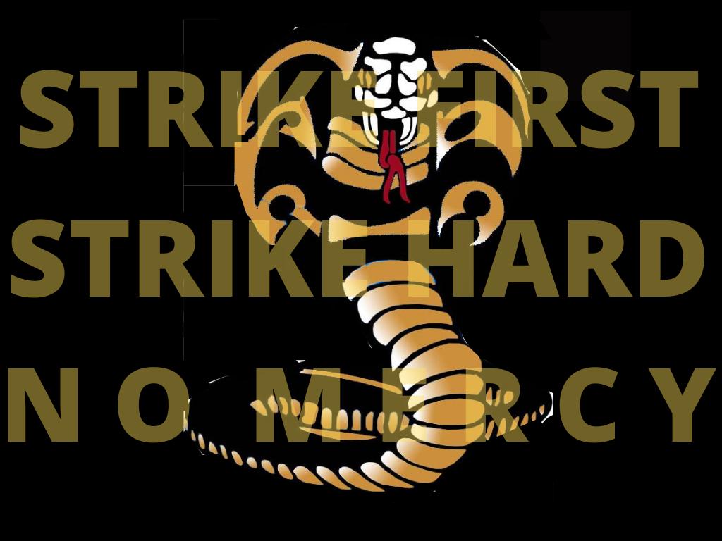 The cobra in the image was created in Photoshop by Izzy Pullias. The image was created in Canva by Zara Morgan.