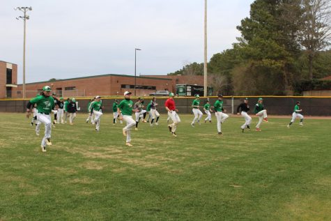 This photo was taken by Zara Morgan at the 10-12th baseball tryouts.