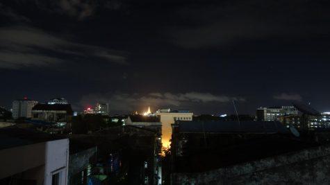 Pagota at Night