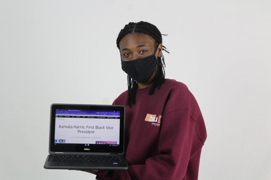 MHS Trail Social Media Editor junior Chisom Ugbajah received a Superior in the Social Justice Reporting category for her story,