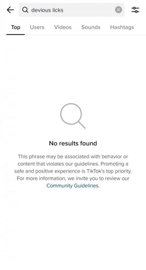 TikTok is aware of the trend and is starting to restrict users ability to participate and share.