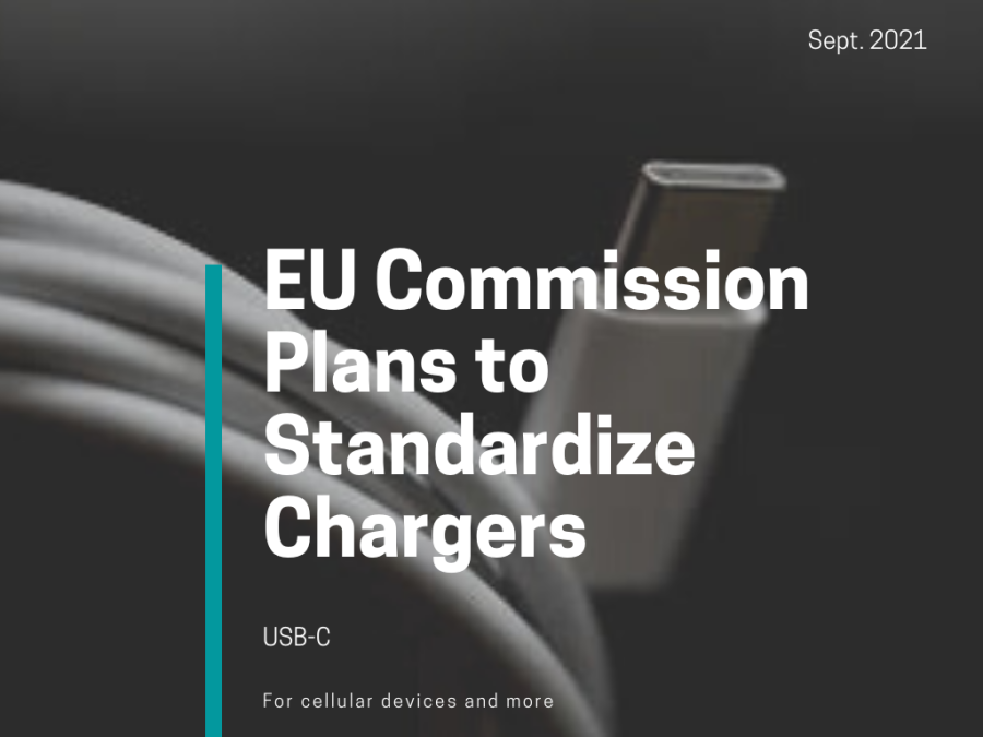 EU Plans to Standardize Chargers